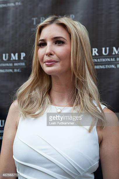 Ivanka Trump poses for a photo at the Trump International Hotel Washington, D.C Groundbreaking Ceremony on July 23, 2014 in Washington, DC.