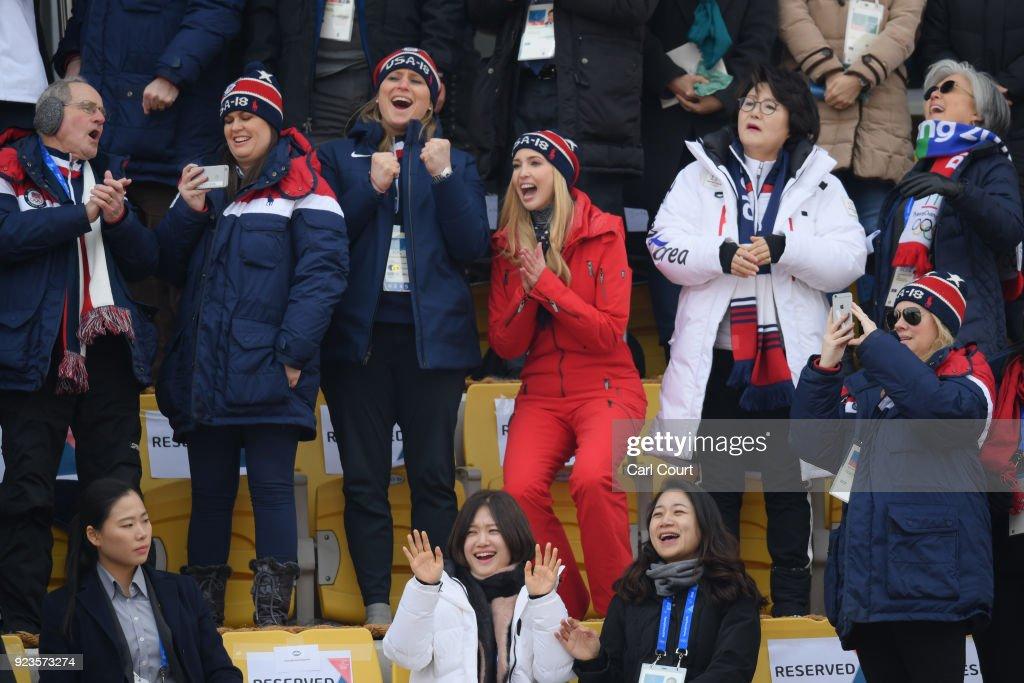 Ivanka Trump Attends Day 15 of PyeongChang Winter Olympics : ニュース写真