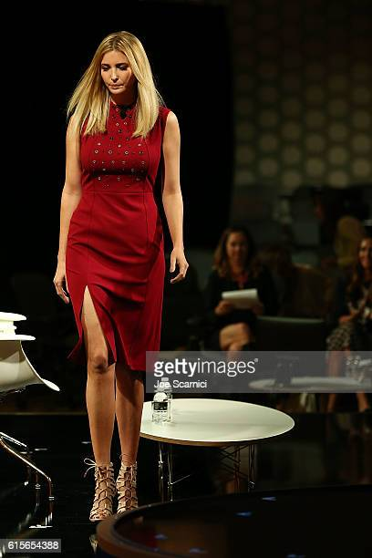 Ivanka Trump speaks onstage at the Fortune Most Powerful Women Summit 2016 at RitzCarlton Laguna Niguel on October 19 2016 in Dana Point California