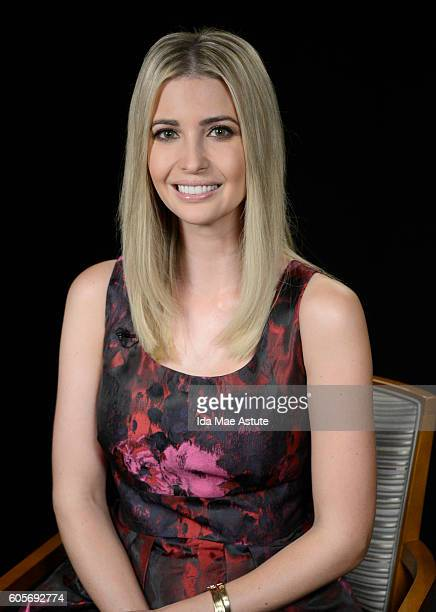 AMERICA Ivanka Trump visits GOOD MORNING AMERICA 9/14/16 airing on the ABC Television Network