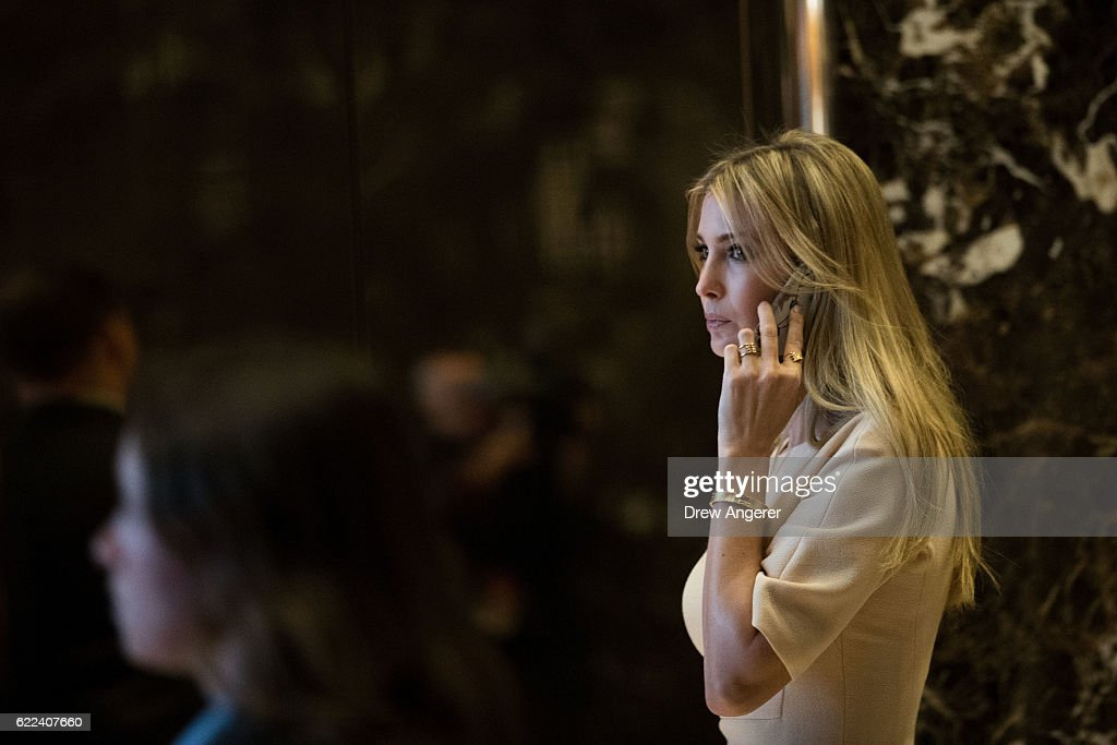 President-Elect Donald Trump Holds Meetings At His Trump Tower Residence In New York : News Photo