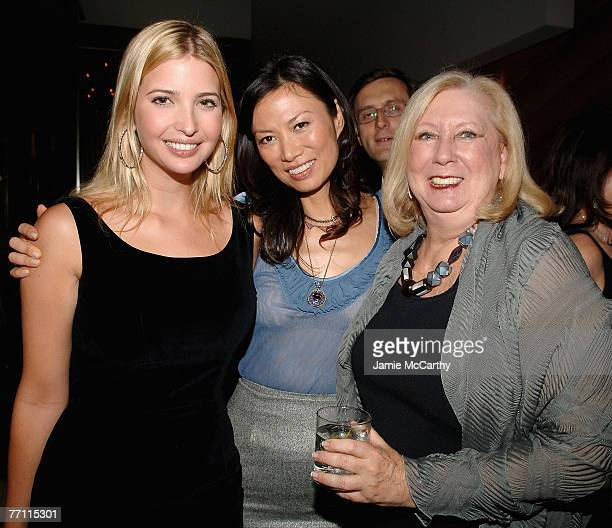 OUT Ivanka TrumpWendi Murdoch and Jane Friedman attend the Launch Party for Jessica Seinfeld's book Deceptively Delicious hosted by Rupert Murdoch...