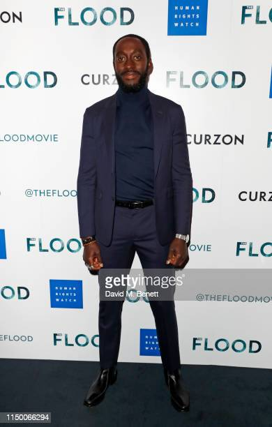 """Ivanno Jeremiah attends a special screening of """"The Flood"""" at The Curzon Mayfair on June 14, 2019 in London, England."""