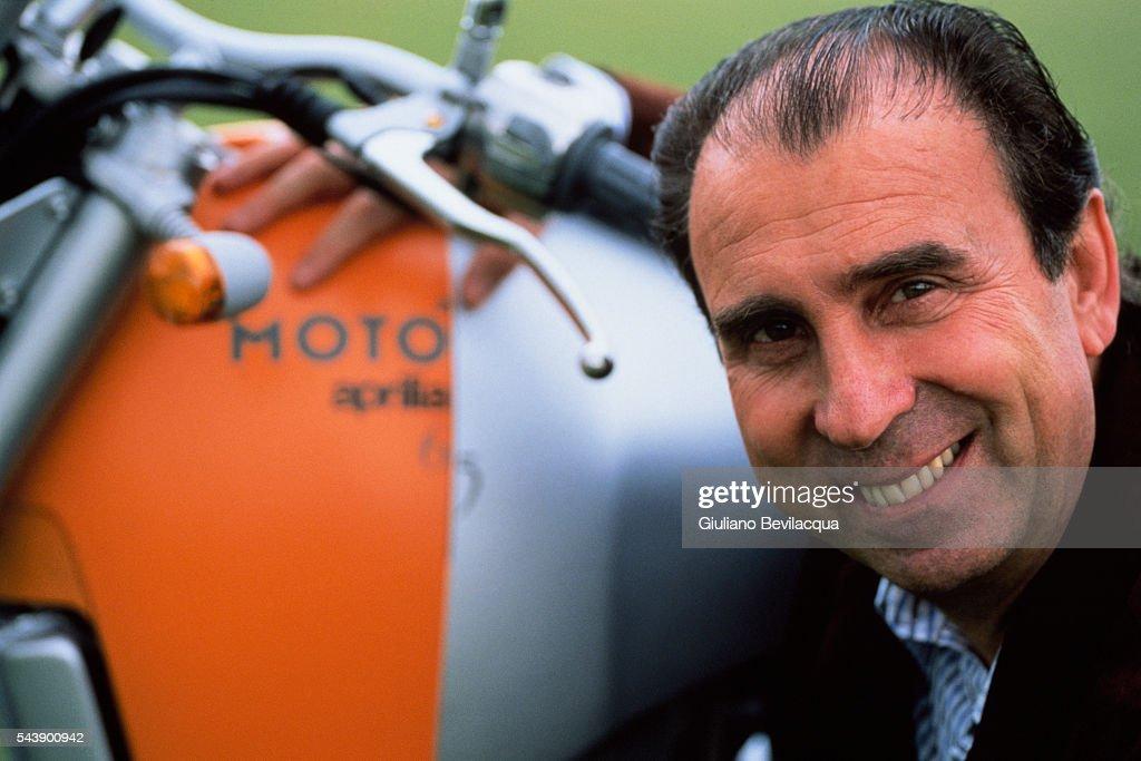 Ivano Beggio, President of Aprilia : News Photo
