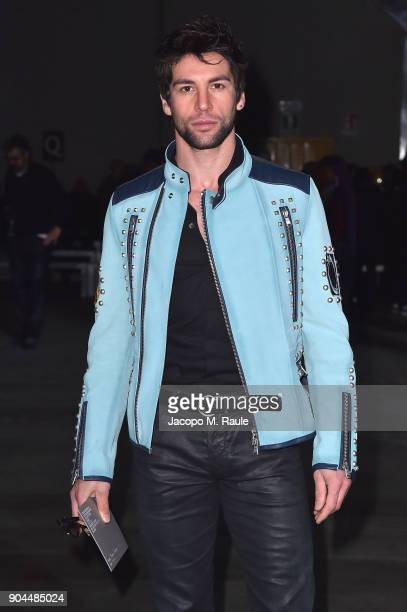 Ivano Marino attends the Diesel Black Gold show during Milan Men's Fashion Week Fall/Winter 2018/19 on January 13 2018 in Milan Italy