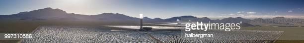 Ivanpah Solar Thermal Plant - Aerial Panorama