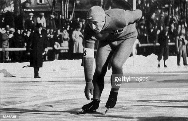 Ivar Ballangrud speed skater who won a gold medal at the 500m to 5000m and the 10000m and a silver medal for the 1500 Winter Olympics in...
