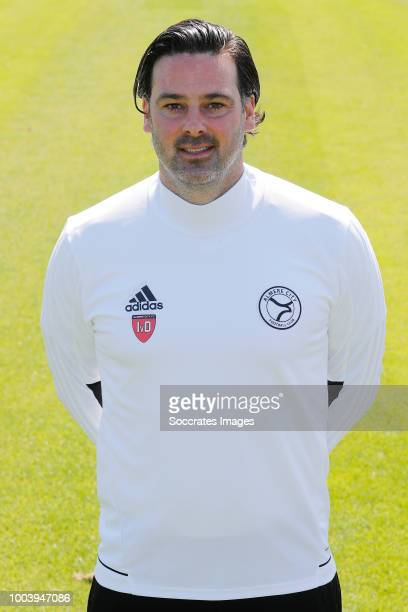 Ivar van Dinteren of Almere City during the Photocall Almere City at the Yanmar Stadium on July 16 2018 in Almere Netherlands