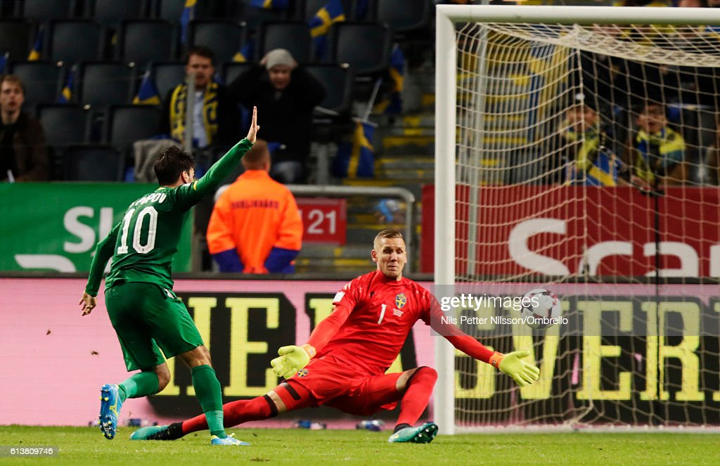 Sweden v Bulgaria - FIFA 2018 World Cup Qualifier : News Photo