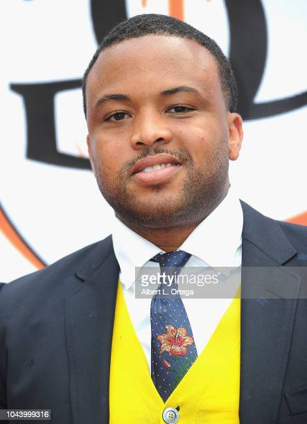 Iver William Jallah arrives for 2nd Annual HAPAwards held at Alex Theatre on September 30 2018 in Glendale California