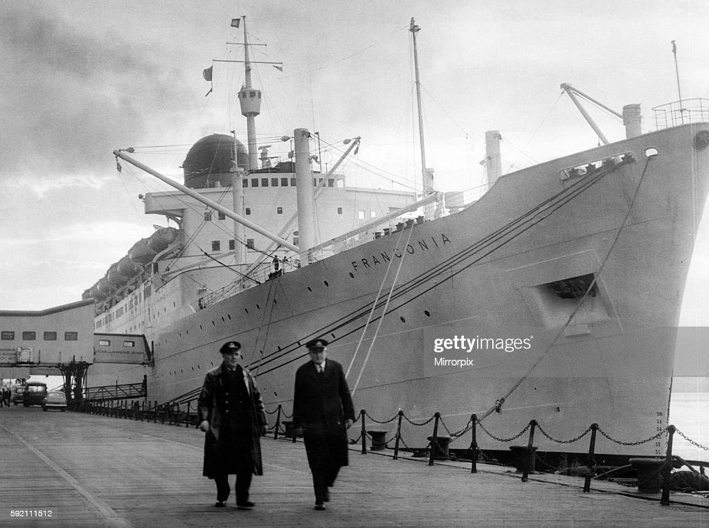 RMS Ivernia, ocean liner, built in 1955 by John Brown