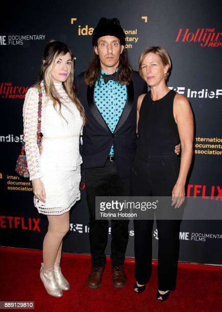 Ivete Lucas Patrick Bresnan and Maida Brankman at the 33rd Annual IDA Documentary Awards at Paramount Theatre on December 9 2017 in Los Angeles...