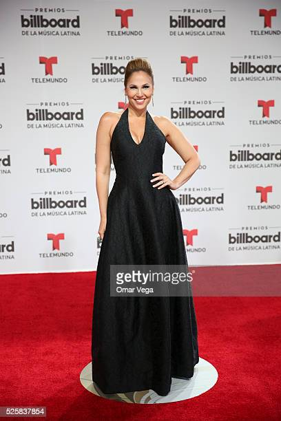 Ivete Machin poses during the red carpet of Billboard Latin Music Awards 2016 at Bank United Center on April 28 2016 in Miami United States