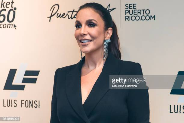 Ivete Sangalo at backstage before the Luis Fonsi concert at Espaco das Americas on May 4 2018 in Sao Paulo Brazil