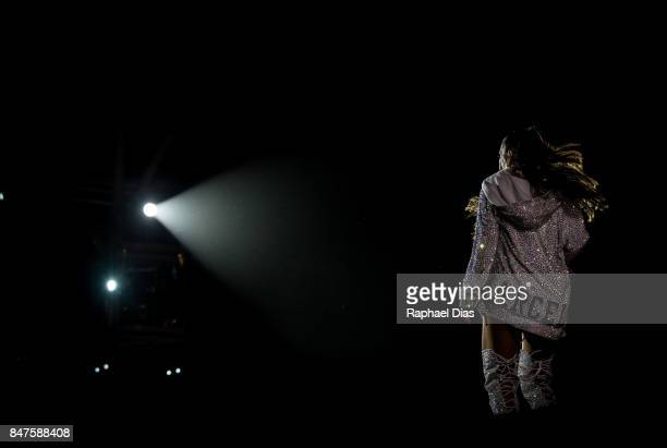 Ivete Sangalo performs at day 1 of Rock in Rio 2017 on September 15 2017 in Rio de Janeiro Brazil