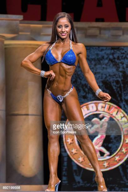 Iveth Carreon competes in Bikini International as part of the Arnold Sports Festival on March 4 at the Greater Columbus Convention Center in Columbus...