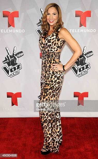 Ivette Machin attends La Voz Kids Grand Final at Universal Orlando on June 7 2014 in Orlando Florida