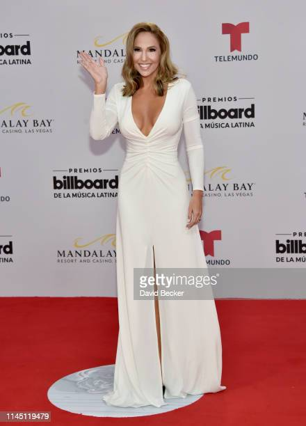 Ivette Machin attends the 2019 Billboard Latin Music Awards at the Mandalay Bay Events Center on April 25 2019 in Las Vegas Nevada