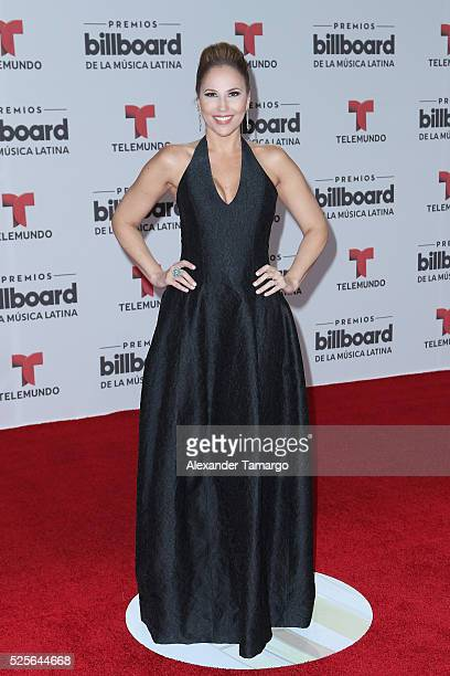 Ivette Machin attends the Billboard Latin Music Awards at Bank United Center on April 28 2016 in Miami Florida