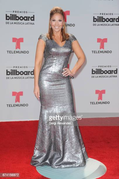 Ivette Machin attends the Billboard Latin Music Awards at Watsco Center on April 27 2017 in Coral Gables Florida