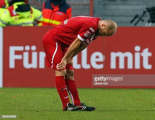Ivica Banovic, Aktion, Emotion, enttaeuscht enttäuscht , FC Energie Cottbus - FC Ingostadt, zweite Bundesliga, Sport, Fußball Fussball, Stadion der...