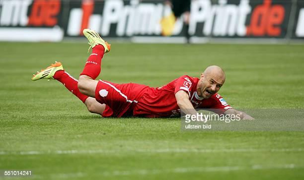 Ivica Banovic, Einzelbild, Aktion, am Boden liegend , FC Energie Cottbus, zweite Bundesliga, Sport, Fußball Fussball, Stadion der Freundschaft...