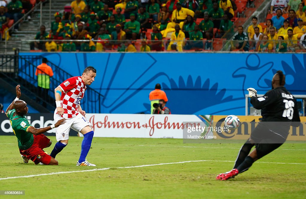 Cameroon v Croatia: Group A - 2014 FIFA World Cup Brazil : News Photo