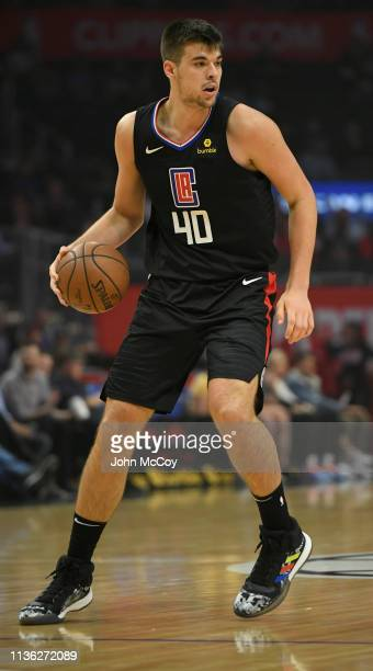 Ivica Zubac of the Los Angeles Clippers against the Chicago Bulls at Staples Center on March 15 2019 in Los Angeles California NOTE TO USER User...