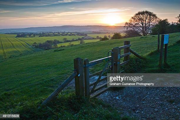 ivinghoe beacon - buckinghamshire stock pictures, royalty-free photos & images