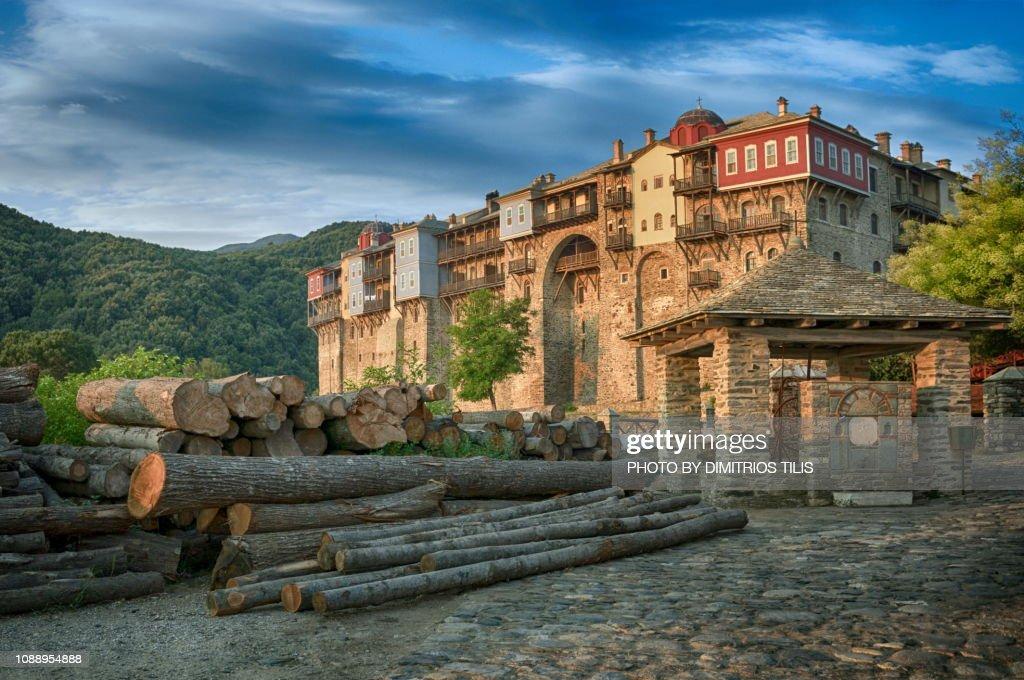 Iviron Monastery : Stock Photo