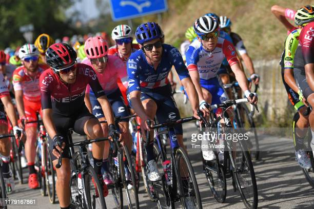 Iván Ramiro Sosa of Colombia and Team INEOS / Alex Howes of The United States and Team EF Education First / David Gaudu of France and Team Groupama -...