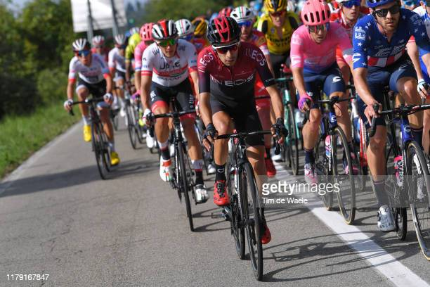Iván Ramiro Sosa of Colombia and Team INEOS / Peloton / during the 102nd Giro dell'Emilia 2019 a 207,4km race from Bologna - Fiere to Bologna - San...