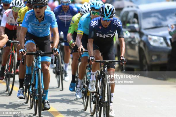 Iván Ramiro Sosa of Colombia and Team Sky / during the 2nd Tour of Colombia 2019, Stage 5 a 177,2km stage from La Unión to La Unión /...