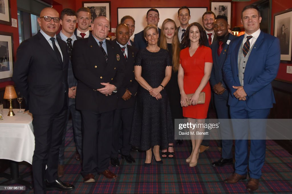 The British Bobsleigh & Skeleton Gala Dinner Attended By HRH Sophie Countess Of Wessex : News Photo