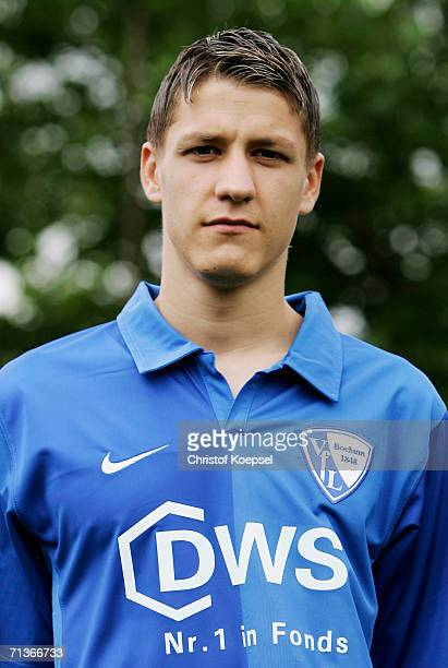 Ivo Ilicevic poses during the Bundesliga Team Presentation of VfL Bochum on June 26 2006 in Bochum Germany
