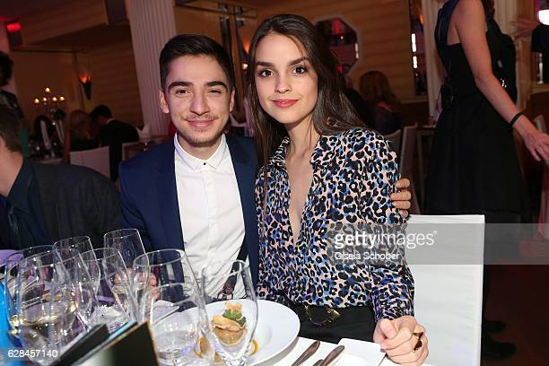 Ivo Kortland and Luise Befort during the 10th Audi Generation Award 2016 at Hotel Bayerischer Hof on December 7, 2016 in Munich, Germany.