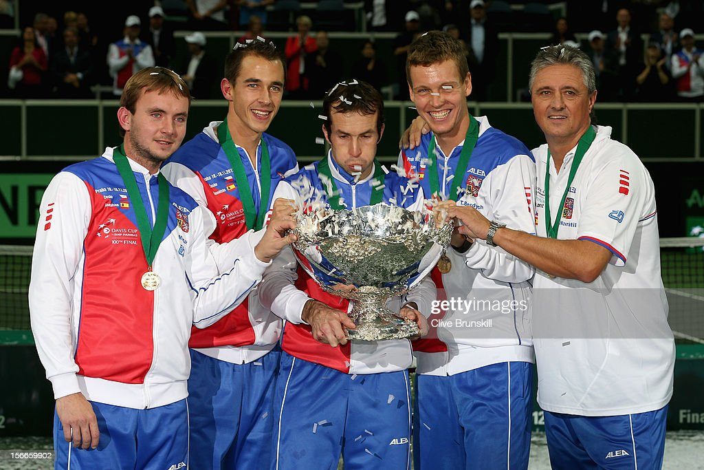 Czech Republic v Spain - Davis Cup World Group Final - Day Three : News Photo