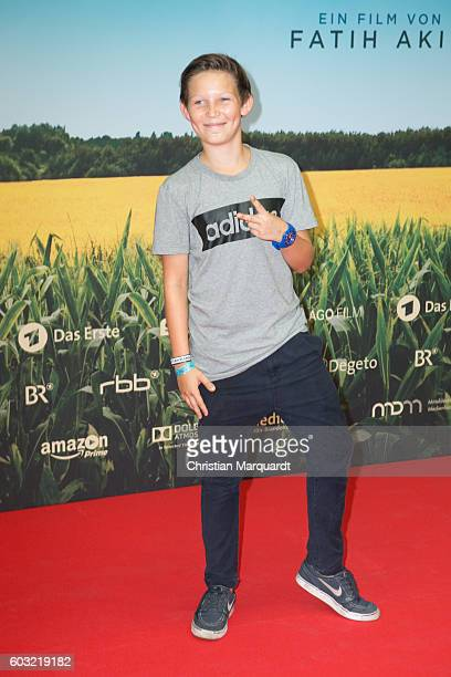 Ivo Pietzcker attends the 'TSCHICK' Premiere at Kino International on September 12 2016 in Berlin Germany