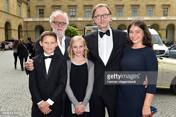 Ivo Pietzcker Ulrich Limmer Jule Hermann Kai Wessel and Henriette Confurius attend the Bernhard Wicki Award during the Munich Film Festival 2016 at...