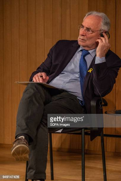 Ivo Vajgl president of the platform seen during the presentation of the 'Plataforma Diàleg UECatalunya' Presentation at the Ateneo de Barcelona the...