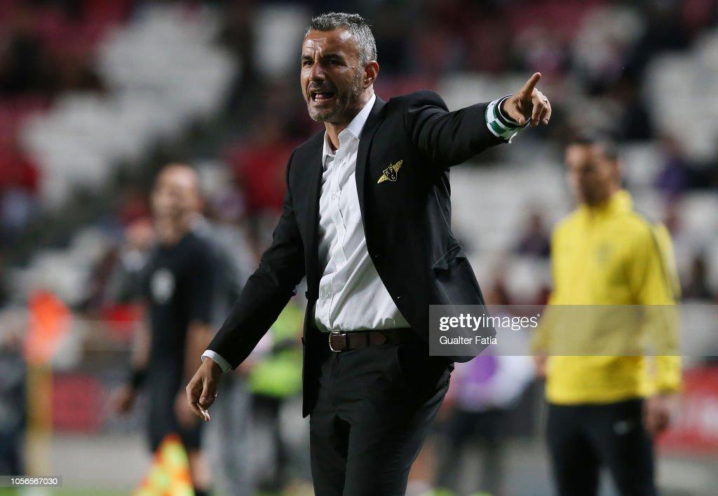 SL Benfica v Moreirense FC - Liga NOS : ニュース写真