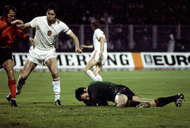 Ivo Viktor of Czechoslovakia during the European Championship between Czechoslovakia and Holland in Stadium Maksimir, Zagreb, Yugoslavia on 16th...
