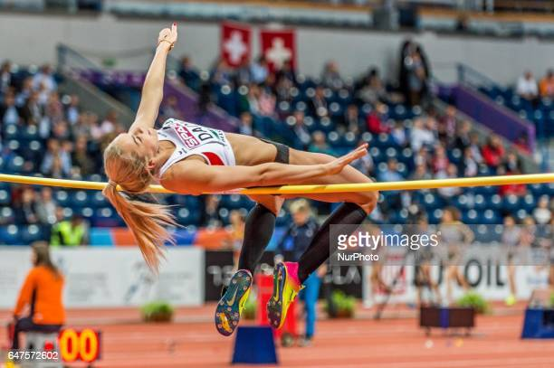 Ivona DadicAustria at high jump under Pentathlon for women at European athletics indoor championships in Belgrade on March 3 2017