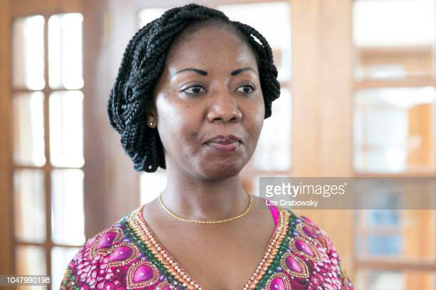 Ivone Soares leader of the opposition party RENAMO on August 26 2018 in Maputo Mozambique