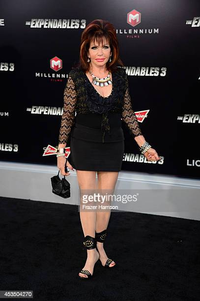 Ivone Weldon attends Lionsgate Films' The Expendables 3 premiere at TCL Chinese Theatre on August 11 2014 in Hollywood California
