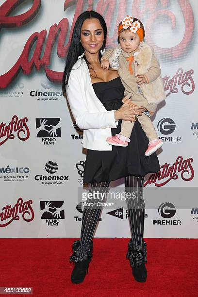 Ivonne Montero attends the Cantinflas Mexico City premiere at Cinemex Antara Polanco on September 9 2014 in Mexico City Mexico