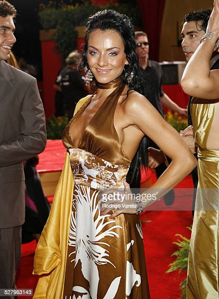 Ivonne Montero during 2006 Billboard Latin Music Conference and Awards Arrivals at Seminole Hard Rock Hotel and Casino in Hollywood Florida United...