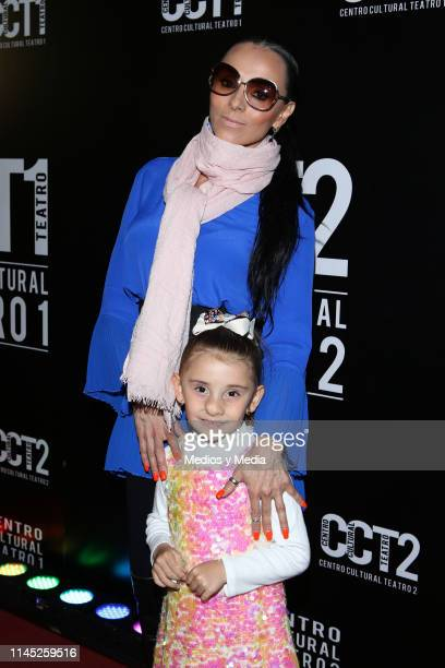 Ivonne Montero poses for photos during a special show for the 131st anniversary of Circo Atayde at Centro Cultural 1 on April 25 2019 in Mexico City...