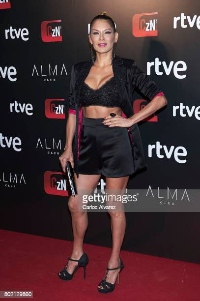 Ivonne Reyes attends 'Corazon' TV programme 20th Anniversary at the Alma club on June 27 2017 in Madrid Spain