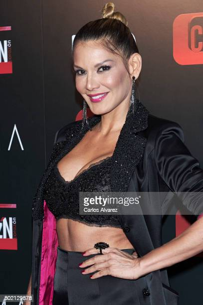 Ivonne Reyes attends 'Corazon' TV programme 20th Anniversary at the Alma club on June 27, 2017 in Madrid, Spain.